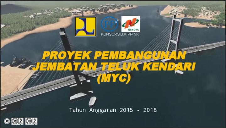 Proyek Jembatan Teluk Kendari