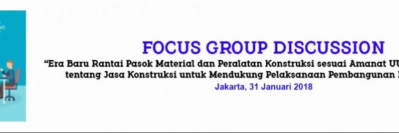 FGD - Era Baru Rantai Pasok - 31 Januari 2018