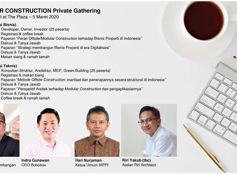 Modular Construction Private Gathering
